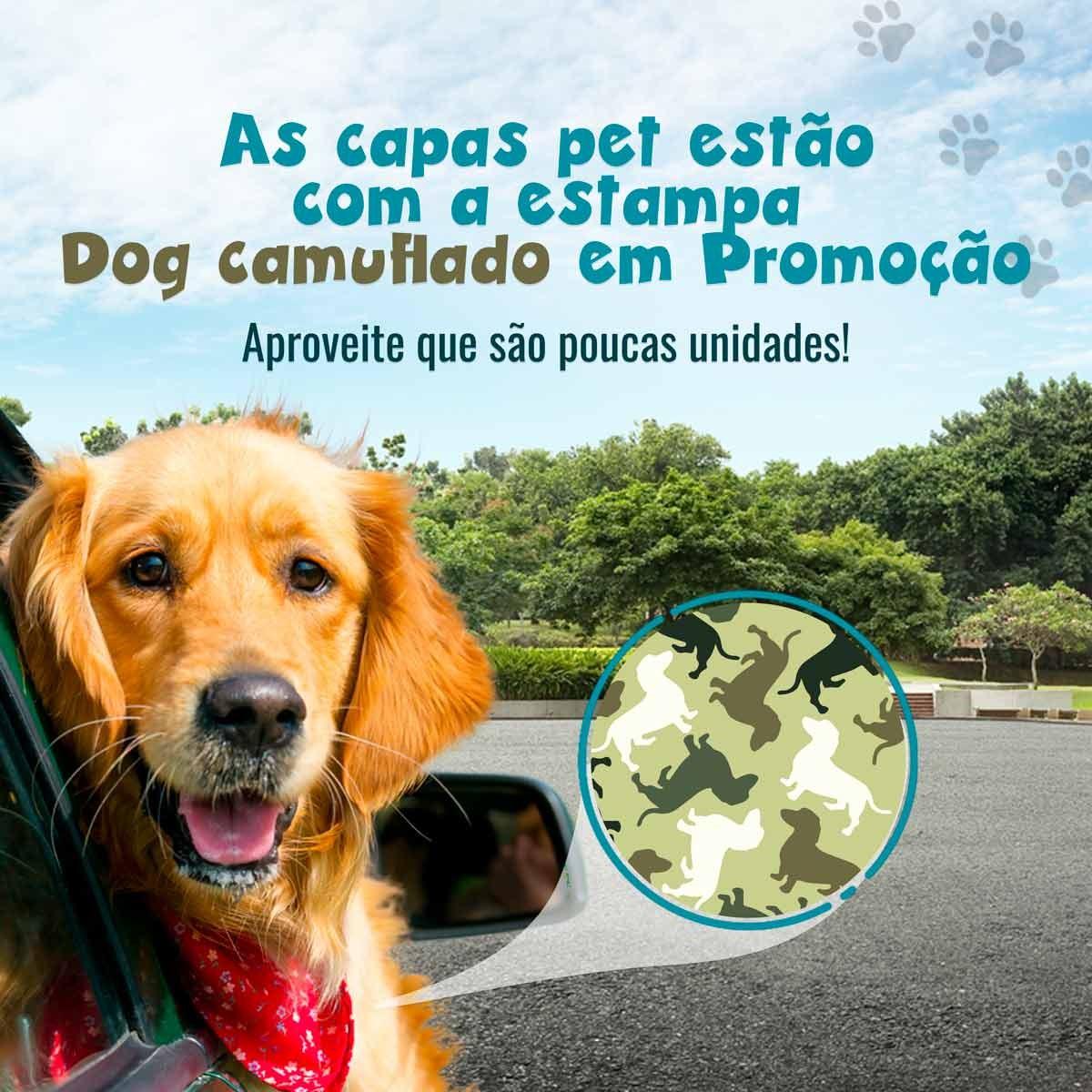 Promoção Estampa Dog Camuflado