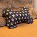 Almofada pet em formato de Ossinho para cama ou sofá
