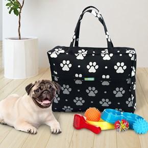 Bolsa Pet de viagem ou passeio para levar o que o seu pet precisa
