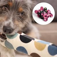 Produto Brinquedo Ossinho em tecido para cães