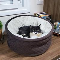Produto Cama Cat Confort Alice para gatos super macia e confortável