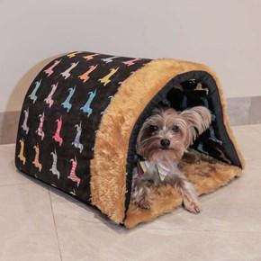 Caminha pet Cave Jolie para cães e gatos