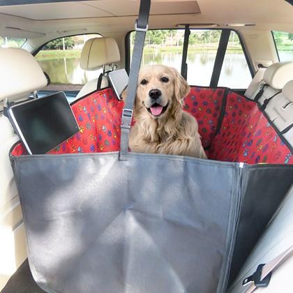 Capa pet impermeável PLUS OUTLET para levar cães no carro (Protege banco e portas!)