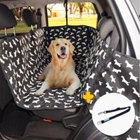 Produto Capa pet impermeável PLUS PREMIUM para levar cães no carro (Protege banco e portas!)