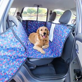 Capa pet impermeável PLUS +TELA para levar cães no carro (Protege banco e portas!)
