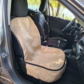 Capa protetora impermeável FRONT LUXO para o banco dianteiro do carro