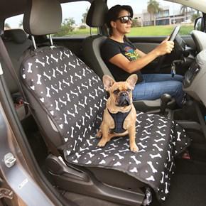 Capa protetora impermeável FRONT PREMIUM para o banco dianteiro do carro