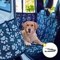 Capa protetora Impermeável VERSATILE para levar cães no carro (6 formas de uso)