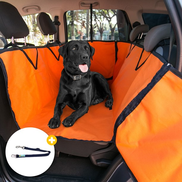 Capa protetora pet impermeável PLUS FORCE para levar cães no carro