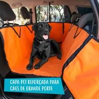 Produto Capa protetora pet impermeável PLUS FORCE para levar cães no carro