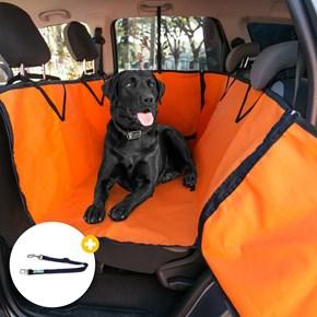 Capa protetora pet impermeável PLUS LUXO para levar cães no carro
