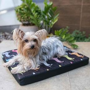 Colchonete cama impermeável Pet Clean Luxo para cães