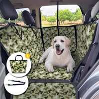Produto Combo Capa pet impermeável PLUS PREMIUM + Bolsa + Guia para carro