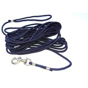 Guia longa de treino Extreme em corda PP 6mm e mosquetão de latão