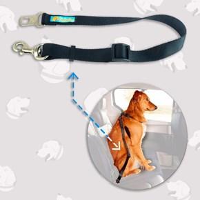 Guia para cinto de segurança Safe Travel para levar cães no carro