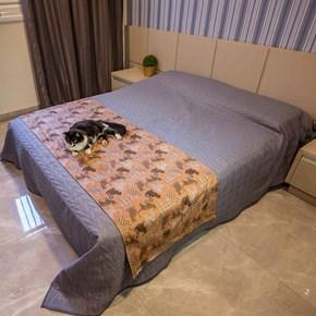Manta para cama Elegance impermeável para acomodar cães (Peseira)