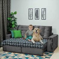 Produto Manta pet Decor tecido duplo impermeável sob medida para sofá