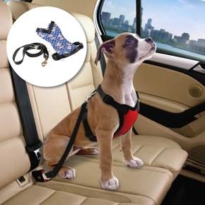 Peitoral Confort Travel com guia dupla função - passeio ou carro