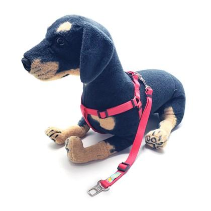 Peitoral Safe Travel Premium para levar cães no carro ou passeio