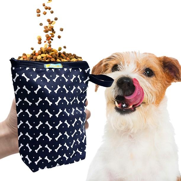 Porta ração Active Premium impermeável para viagens com seu cão